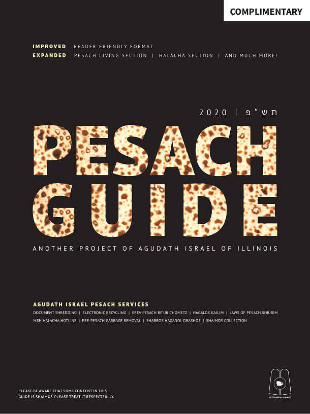 Pesach Guide